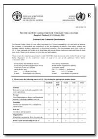 Feedback and Evaluation Questionnaire by Food and Agriculture Organization of the United Na...