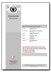 Decisions et Recommandations de la Deuxi... by Barreto, M. Miguel