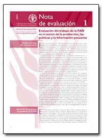 Evaluacion Del Trabajo de la Fao en El S... by Food and Agriculture Organization of the United Na...