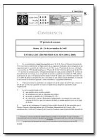 Entrega de Los Premios B. R. Sen (2004 Y... by Food and Agriculture Organization of the United Na...
