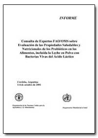 Consulta de Expertos Fao/Oms Sobre Evalu... by Food and Agriculture Organization of the United Na...