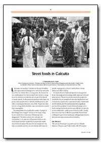 Street Foods in Calcutta by Chakravarty, I.