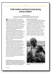 Child Nutrition and Food Security during... by Hussain, A.