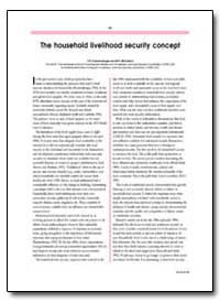 The Household Livelihood Security Concep... by Frankenberger, T. R.