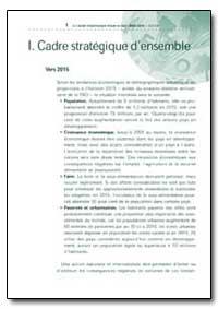 I. Cadre Strategique Densemble by Food and Agriculture Organization of the United Na...