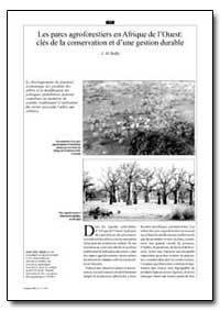 Les Parcs Agroforestiers en Afrique de L... by Boffa, J. M.