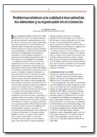 Problemas Relativos a la Calidad E Inocu... by Lezama, L. F. Hernandez