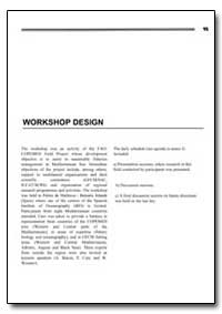 Workshop Design by Food and Agriculture Organization of the United Na...