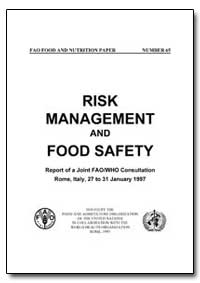 Risk Management and Food Safety by Food and Agriculture Organization of the United Na...