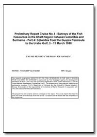 Preliminary Report Cruise No. I - Survey... by Nansen, Fridtjof, Dr.