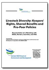 Livestock Diversity : Keepers' Rights, S... by Food and Agriculture Organization of the United Na...