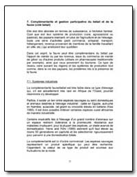 Complementarite et Gestion Participative... by Food and Agriculture Organization of the United Na...