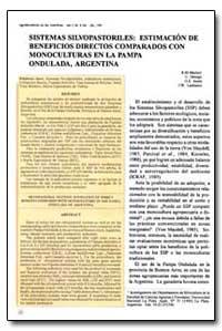 Sistemas Silvopastoriles: Estimacion de ... by Marlatsl, R. M.