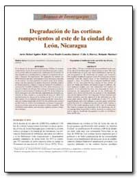 Degradaci N de las Cortinas Rompevientos... by Rub, Javier Rafael Aguirre
