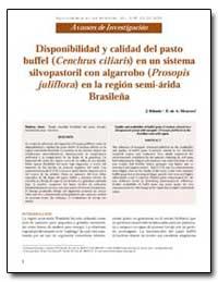 Disponibilidad Y Calidad Del Pasto Buffe... by Ribaski, J.