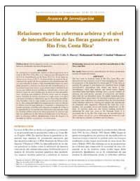 Relaciones Entre la Cobertura Arborea Y ... by Villacis, Jaime