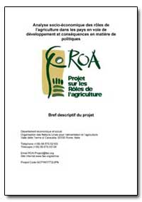 Analyse Socio-Economique des Roles de La... by Food and Agriculture Organization of the United Na...