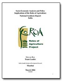 Socio-Economic Analysis and Policy Impli... by Ray, Shovan