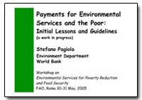 Payments for Environmental Services and ... by Food and Agriculture Organization of the United Na...