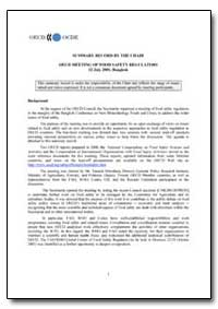 Summary Record by the Chair Oecd Meeting... by Food and Agriculture Organization of the United Na...