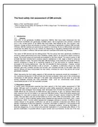 The Food Safety Risk Assessment of Gm An... by Kok, Esther J.