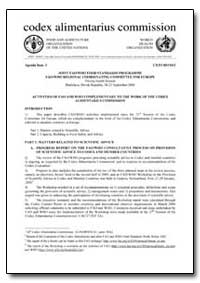 Joint Fao/Who Food Standards Programme F... by Food and Agriculture Organization of the United Na...
