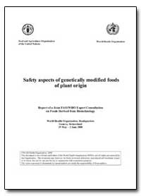 Safety Aspects of Genetically Modified F... by Food and Agriculture Organization of the United Na...