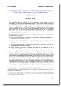 Section 1 - Scope by Food and Agriculture Organization of the United Na...