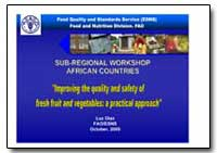 Sub-Regional Workshop African Countries by Diaz, Luz Berania