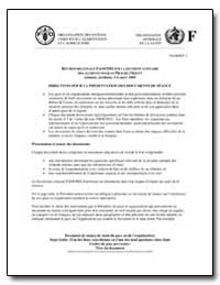 Reunion Regionale Fao/Oms sur la Securit... by Food and Agriculture Organization of the United Na...
