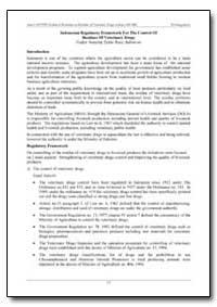 Indonesian Regulatory Framework for the ... by Rasa, Fadjar Sumping Tjatur
