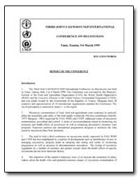 Third Joint Fao/Who/Unep International C... by Food and Agriculture Organization of the United Na...