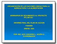 Seminarios de Seguimiento Al Proyecto Pf... by Food and Agriculture Organization of the United Na...