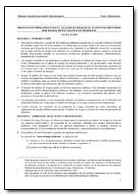 Proyecto de Principios para el Analisis ... by Food and Agriculture Organization of the United Na...