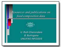 Resources and Publications on Food Compo... by Food and Agriculture Organization of the United Na...