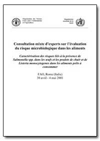 Consultation Mixte Dexperts sur Levaluat... by Food and Agriculture Organization of the United Na...
