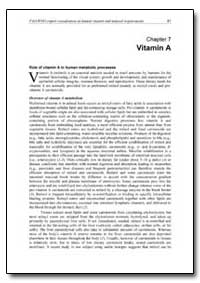Chapter 7 Vitamin A by Food and Agriculture Organization of the United Na...