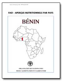 Fao-Apercus Nutritionnels par Pays Benin by Food and Agriculture Organization of the United Na...