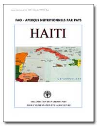 Fao-Apercus Nutritionnels par Pays Haiti by Food and Agriculture Organization of the United Na...