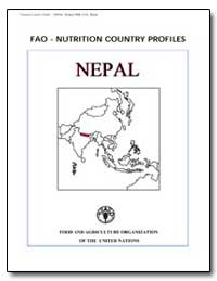 Fao-Nutrition Country Profiles Nepal by Food and Agriculture Organization of the United Na...