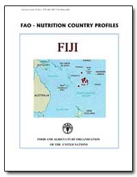 Fao-Nutrition Country Profiles Fiji by Food and Agriculture Organization of the United Na...