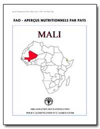 Fao-Apercus Nutritionnels par Pays Mali by Food and Agriculture Organization of the United Na...
