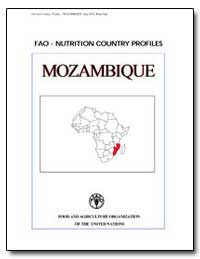 Fao-Nutrition Country Profiles Mozambiqu... by Food and Agriculture Organization of the United Na...