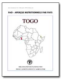 Apercus Nutritionnels par Pays Togo by Food and Agriculture Organization of the United Na...