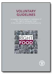 Voluntary Guidelines by Food and Agriculture Organization of the United Na...