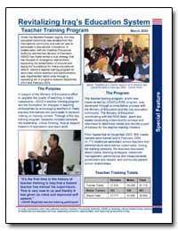 Revitalizing Iraqs Education System Spec... by International Development Agency