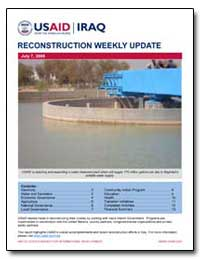 Reconstruction Weekly Update - July 7, 2... by International Development Agency
