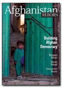Afghanistanoctober 2004 Reborn by International Development Agency