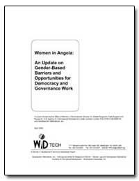 Women in Angola : An Update on Gender-Ba... by Greenberg, Marcia E.