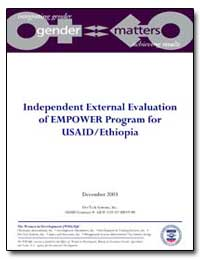 Independent External Evaluation of Empow... by International Development Agency